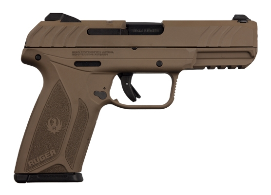 Ruger Security-9 9mm 4in 15rd Barrett Brown 3813