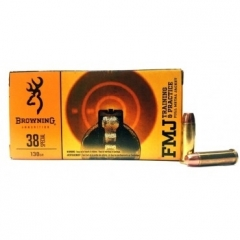 Browning 38 Special 130gr FMJ Ammo 50RD B191800382