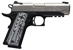 Browning 1911-380 Black Label Pro SS Compact w/ Rail .380 Auto 3.62