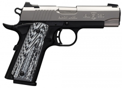 Browning 1911-380 Black Label Pro SS Compact .380 Auto 3.62