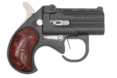 Cobra Big Bore 9mm Derringer BBG9BR, Black/Rosewood Grips 2rd 2.75