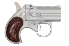 Cobra Big Bore .22 Mag Derringer BBG22SR Satin Finish/Rose Wood Grips 2rd 2.75