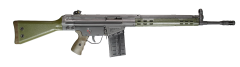 PTR-91 GI PTR 100 Black/OD Green .308WIN/7.62NATO Rifle 20+1 18