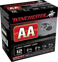 Winchester AA Light Target Load 12 Gauge, 2-3/4