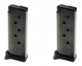 Ruger LCP .380 ACP 6-Round Magazine Value 2-Pack 90643
