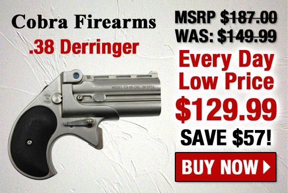 Cobra Enterprises Big Bore Derringer .38 Special