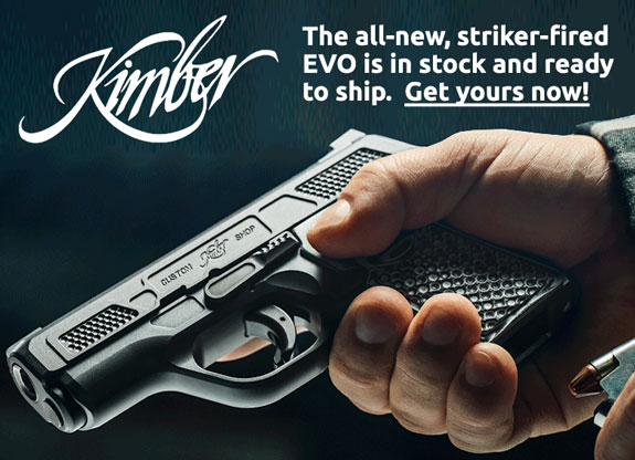 Kimber EVO Striker-fired Pistols