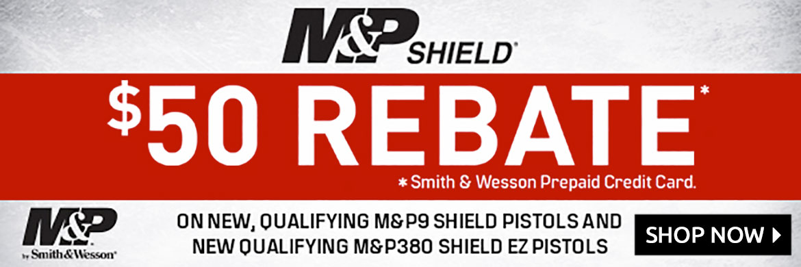 Smith & Wesson $50 Rebate